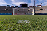 PASADENA, CA - AUGUST 3: The Rose Bowl during a game between Ireland and USWNT at Rose Bowl on August 3, 2019 in Pasadena, California.