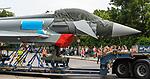 Transport eines Eurofighters nach Ingolstadt / Manching