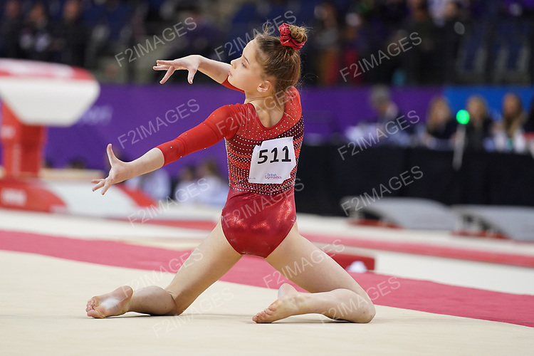British Championships 2019.Women's espoir all-around and Men's under 12 all-around