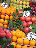 Pomegranates & Oranges - Istanbul
