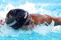 Trofeo Settecolli di nuoto al Foro Italico, Roma, 13 giugno 2013.<br /> Zsuzsanna Jakabos, of Hungaria, competes in the women's 100 meters butterfly at the Sevenhills swimming trophy in Rome, 13 June 2013.<br /> UPDATE IMAGES PRESS/Isabella Bonotto