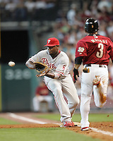 Phillies 1B Ryan Howard on Sunday May 25th at Minute Maid Park in Houston, Texas. Photo by Andrew Woolley / Four Seam Images..
