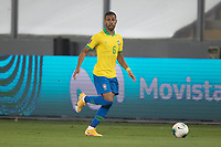 13th October 2020; National Stadium of Peru, Lima, Peru; FIFA World Cup 2022 qualifying; Peru versus Brazil;  Renan Lodi of Brazil