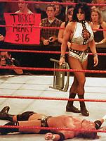 Chyna Triple H    1999                                                                  By John Barrett/PHOTOlink