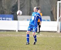 AA Gent Ladies - Lommel : Lidewei De Waele<br /> foto DAVID CATRY / Nikonpro.be