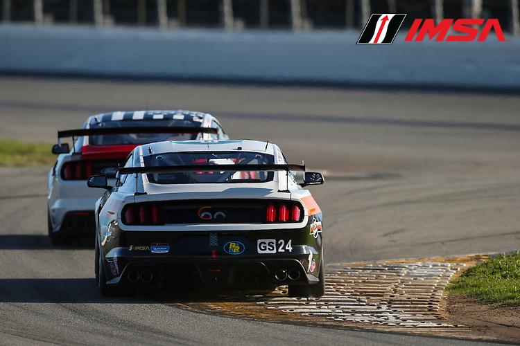 #24 Ian Lacy Racing Ford Mustang GT4, GS: Frank Gannett II, Drew Staveley, Ian Lacy