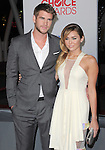 Liam Hemsworth and Miley Cyrus attends People's Choice Awards 2012 held at Nokia Live in Los Angeles, California on January 11,2012                                                                               © 2012 Hollywood Press Agency