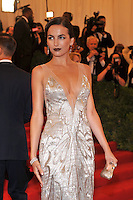 Camilla Belle at the 'Schiaparelli And Prada: Impossible Conversations' Costume Institute Gala at the Metropolitan Museum of Art on May 7, 2012 in New York City. ©mpi03/MediaPunch Inc.
