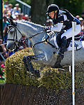 April 26, 2014: RF SMOKE ON THE WATER, ridden by Marilyn Little (USA), competes in the Cross County Test at the Rolex Kentucky 3-Day Event at the Kentucky Horse Park in Lexington, KY Scott Serio/ESW/CSM