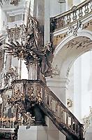 Church of Vierzehnhelligen, Bamberg, Germany, designed by Balthasar Neumann.