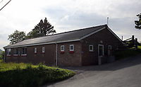 Pictured: The village Community Hall. Thursday 01 June 2017<br /> Re: There has been a 4G mobile phone mast installed at the village of Littlestay in Powys, Mid Wales.