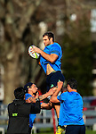 Luke Whitelock. Highlanders Captain's run ahead of their Super Rugby quarter final against the Brumbies in Canberra. King's College, Auckland, New Zealand, Thursday 21 July 2016. Photo: Simon Watts/www.bwmedia.co.nz for Kings College