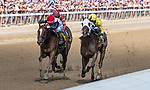 09042021:#4  Cilla ridden by Tyler Gaffalione wins the Prioress S (gr. 2) on The JOCKEY GOLD CUP day at Saratoga<br /> Robert Simmons/Eclipse Sportswire