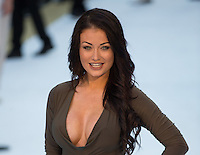 Jess Impiazzi attends The Magic Mike XXL European Film Premiere at Vue, Leicester Square, London, England on 28 June 2015. Photo by Andy Rowland.