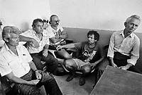 - Villaggio albanese, Queparo (Ceparò, agosto 1993); l'assemblea degli uomini<br /> <br /> -  Albanian  Village, Queparo (Ceparò, August 1993); the men's meeting