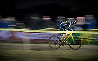 Quinten Hermans (BEL/Telenet Fidea Lions) speeding along<br /> <br /> men's race<br /> 44th Superprestige Diegem (BEL) 2018<br /> ©kramon