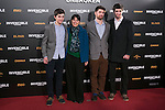 "Maria Belon and her Sons attend the Premiere of the movie ""UNBROKEN"" in Madrid, Spain. December 15, 2014. (ALTERPHOTOS/Carlos Dafonte)"