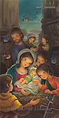 Sue Allison, HOLY FAMILIES, paintings, BRTOCH08635,#XR# Weihnachten, Navidad, illustrations, pinturas