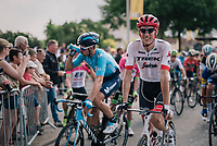 Michael Gogl (AUT/Trek-Segafredo) rolling in<br /> <br /> Stage 7: Fougères > Chartres (231km)<br /> <br /> 105th Tour de France 2018<br /> ©kramon