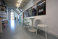 WORDS BY KARL WEST<br /> Pictured: Interior view of the Techhub Friday 30 September 2016<br /> Re: The regeneration of the High Street in Swansea, Wales, UK