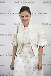Spanish actress Elena Anaya poses during Moet & Chandon event in Madrid, Spain. May 05, 2015. (ALTERPHOTOS/Victor Blanco)