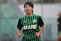 Mana Mihashi of Sassuolo looks on during the women Serie A football match between US Sassuolo and Hellas Verona at Enzo Ricci stadium in Sassuolo (Italy), November 15th, 2020. Photo Andrea Staccioli / Insidefoto