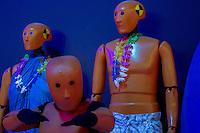 São Paulo, SP - 03.11.2014 - SALÃO INTERNACIONAL DO AUTOMÓVEL -  Bonecos de segurança em exposição no 28 Salão Internacional do Automóvel no Centro de Exposições do Anhembi em São Paulo na tarde desta segunda - feira, 03. (Foto: Renato Mendes/Brazil Photo Press)