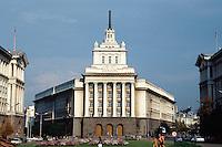 Bulgarien, Sofia, ehemaliges Parteigebäude