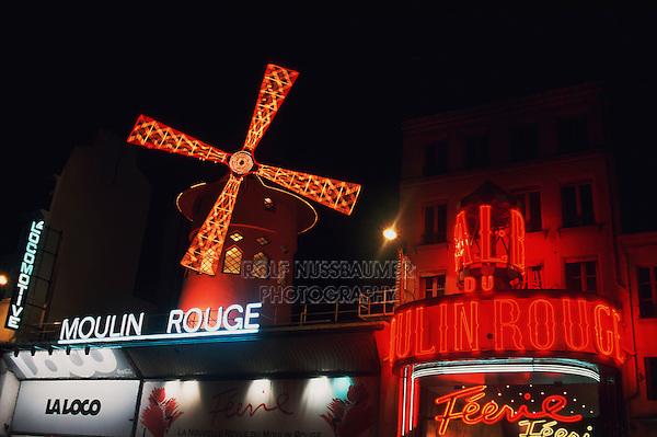 Moulin Rouge, Paris, France, Europe