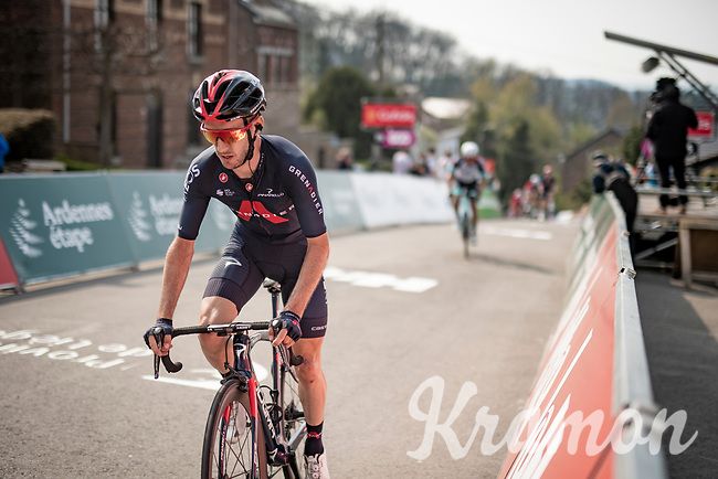 Adam Yates (GBR/INEOS Grenadiers) nearing the finish<br /> <br /> 85th La Flèche Wallonne 2021 (1.UWT)<br /> 1 day race from Charleroi to the Mur de Huy (BEL): 194km<br /> <br /> ©kramon