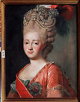 Portrait of Empress Maria Feodorovna (Sophie Dorothea of Württemberg) (1759-1828)<br />