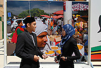 Milan 30 May 2015<br /> EXPO 2015.<br /> Membri dello staff del Sultanato del Brunei. <br /> Staff members of the Sultanate of Brunei. <br /> Photo Livio Senigalliesi