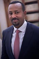Today the Nobel Prize for Peace at the Ethiopian Prime Minister, Abiy Ahmed Aliho, was announced. The photos of the recent meeting with Pope Francis, during a private audience at the Vatican on January 21, 2019.