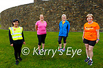 Tralee Born to Run return to training following the easing of lockdown restrictions on Tuesday evening. L to r: Amila Mukj, Helen Toomey, Noreen Stack and Kathleen Curtin.