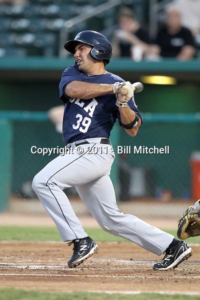 Mike Cervenak - New Orleans Zephyrs - 2011 Pacific Coast League.Photo by Bill Mitchell