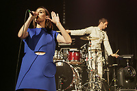 Yelle performs at the Festival d'ete de Quebec (Quebec City Summer Festival) Thursday July 9, 2015.