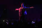 The Weeknd in concert at Paris Bercy AccorHotels Arena in Paris, France.