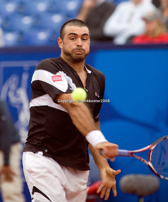 15-7-08, Amersfoort, Tennis, Dutch Open,  Ivan Navarro