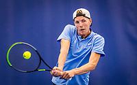 Amstelveen, Netherlands, 17  December, 2020, National Tennis Center, NTC, NK Indoor, National  Indoor Tennis Championships,   : J Gijs Brouwer (NED) <br /> Photo: Henk Koster/tennisimages.com