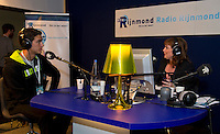 15-02-12, Netherlands,Tennis, Rotterdam, ABNAMRO WTT, Jesse Huta Galung Radio-interview.