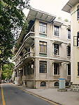 "Staff Quarters At 24 South Street, Shamian (Shameen) Island, Guangzhou (Canton).  Built As ""Pallonjee House"" And Later Sold To The Bank."