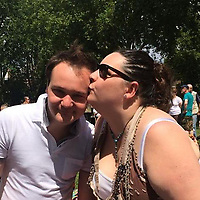 """Pictured: Ben Davies (L) with his fiancee Emily Russ.<br /> Re: Tributes have been paid to a senior member of staff at the Welsh Conservatives who died following an accident on his stag do.<br /> Ben Davies, 32, died on Sunday, a week after falling into a coma while on the Greek island of Mykonos.<br /> It is understood Mr Davies, from Cardiff, suffered a head injury following a fall.<br /> The deputy chief of staff of the Tory group in the assembly was due to marry his fiancee Emily Russ in three weeks.<br /> Vincent Bailey, a close friend and colleague of Mr Davies, said: """"He was incredibly bright and such a big character."""