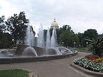 """ILLINOIS STATE CAPITAL BUILDING<br /> houses the executive and legislative branches of the government of the state of Illinois. In 1818, the current building became the sixth capitol of the state since its admission to the United States in 1818. <br /> <br /> The capital dome is covered in zinc to provide a silvery facade which does not weather.<br /> <br /> Illinois is nicknamed """"The Prairie State""""<br /> <br /> Motto:State sovereignty,national union. <br /> <br /> Nickname:The Land of Lincoln"""