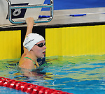 Wales' Hannah McCarthy competes in the women's 50m freestyle semi-final<br /> <br /> Photographer Chris Vaughan/CameraSport<br /> <br /> 20th Commonwealth Games - Day 2 - Friday 25th July 2014 - Swimming - Tollcross International Swimming Centre - Glasgow - UK