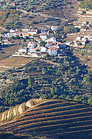 vineyards quinta do noval  view to sao cristovao do douro douro portugal