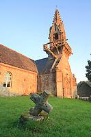 France, Bretagne, Morbihan (56), Lignol, chapelle Saint-Yves // France, Bretagne, Morbihan, Lignol, chapel Saint-Yves.
