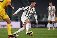 Cristiano Ronaldo of Juventus FC in action during the Serie A football match between Juventus FC and Cagliari Calcio at Allianz stadium in Torino (Italy), November21th, 2020. Photo Federico Tardito / Insidefoto