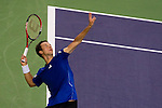 SHANGHAI, CHINA - OCTOBER 12:  Philipp Kohlschreiber of Germany serves to Andy Roddick of USA during day two of the 2010 Shanghai Rolex Masters at the Shanghai Qi Zhong Tennis Center on October 12, 2010 in Shanghai, China.  (Photo by Victor Fraile/The Power of Sport Images) *** Local Caption *** Philipp Kohlschreiber