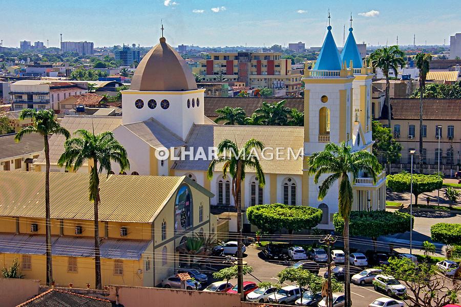 Catedral Sagrado Coração de Jesus. Cidade de Porto Velho. Rondonia. 2019. Foto Lineu Kohatsu