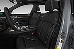 Front seat view of 2017 BMW 7 Series 750i M Sport 4 Door Sedan Front Seat  car photos
